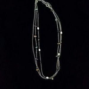 Silpada three chain necklace
